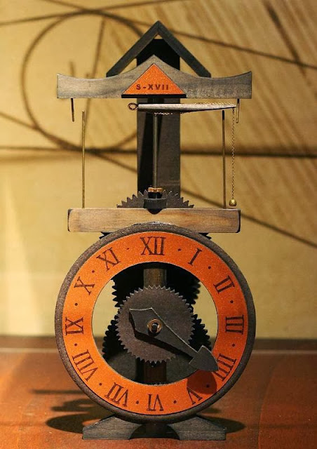 Da Vinci The Genius Exhibit The Mind Museum Clock