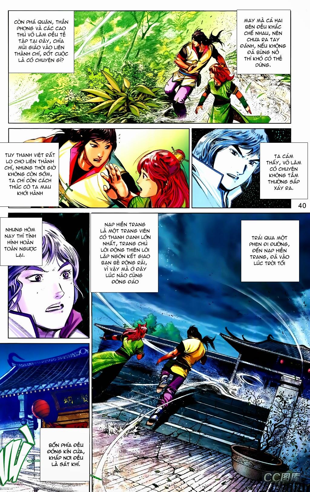 Phong Vân Chap 663 - Trang 40
