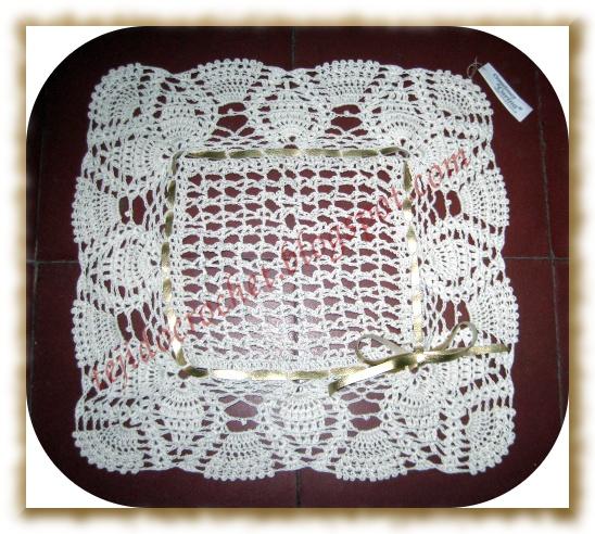 Tapete Carpeta Tejida Crochet Daniek - Ajilbab.Com Portal