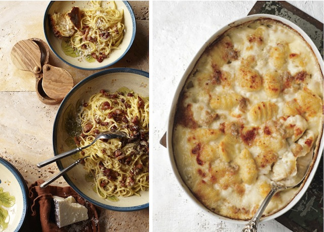 ... Gnocchi Gratin with Gorgonzola Dolce by Victoria Granof for Bon