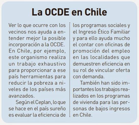 LA OCDE EN CHILE
