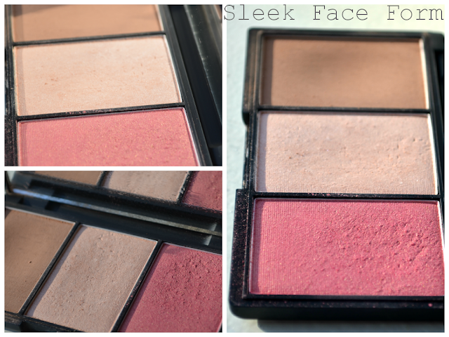 Sleek Face form - sleek palette - contour kit - light - highlight - contour - blush - review - swatch