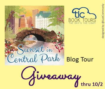 Sunset in Central Park Tour Giveaway thru 10/2