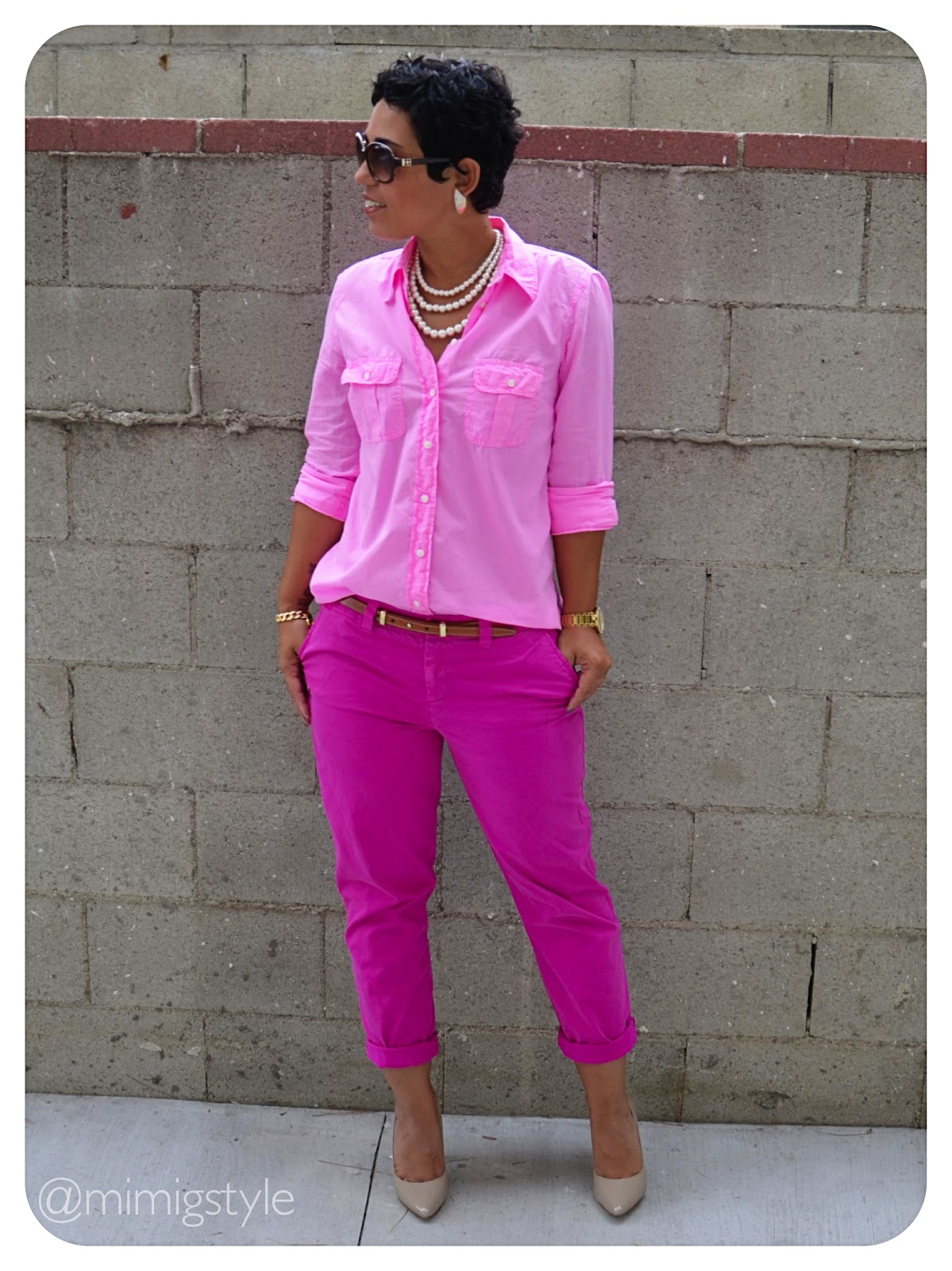 Pretty in pink how to wear one solid color fashion lifestyle and