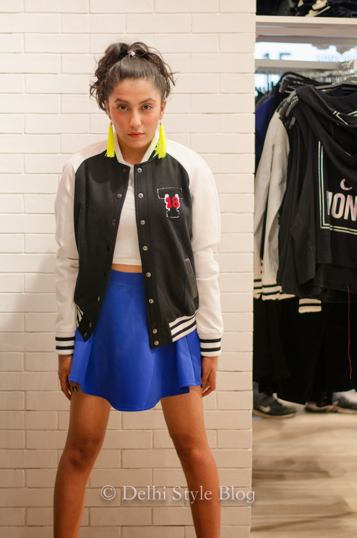 Forever 21 new in store varsity jacket