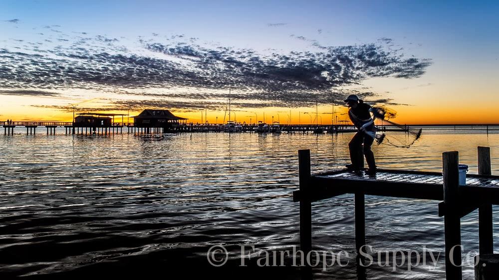 The fairhope pier for Fishing in mobile al