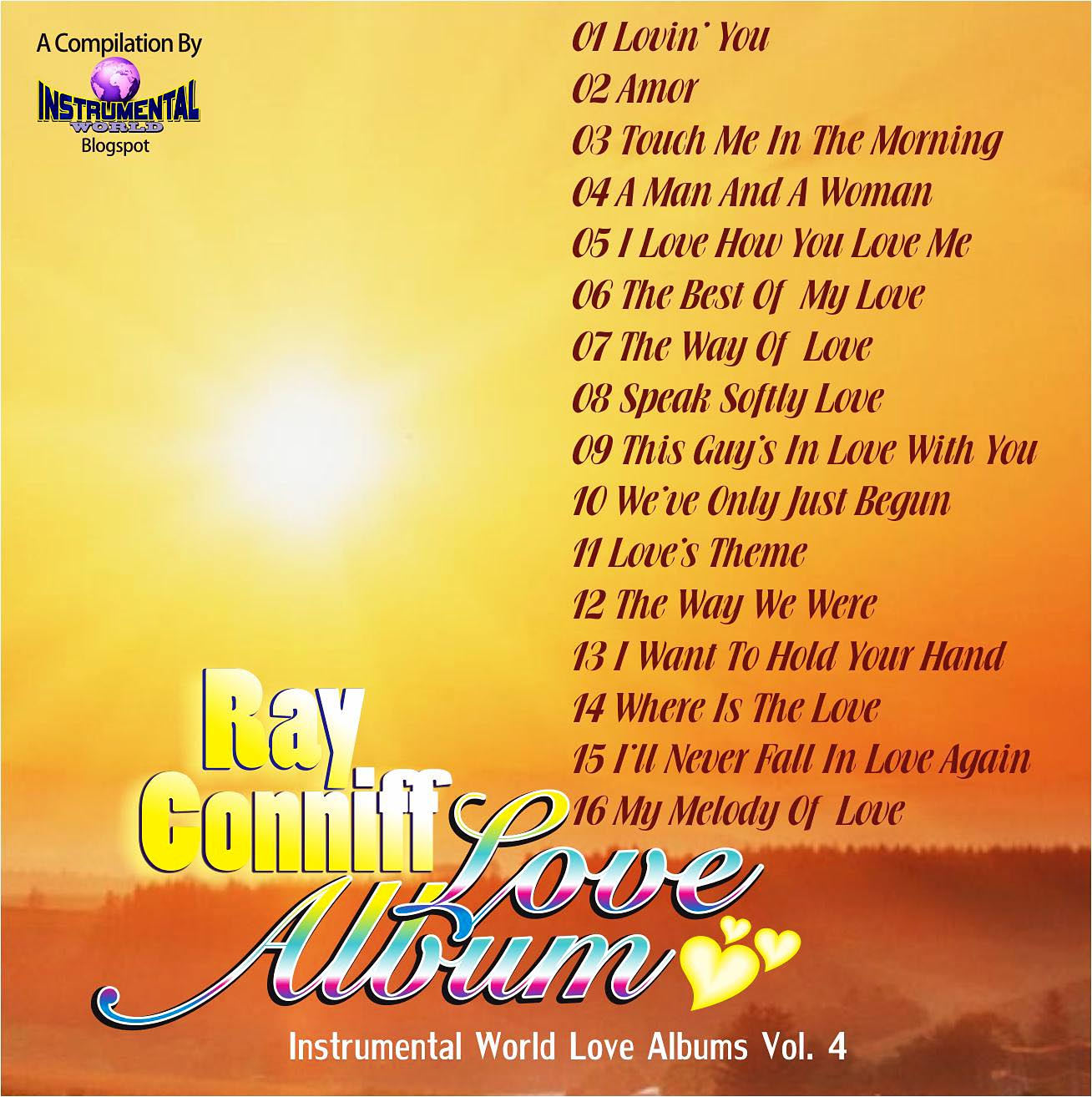 cd Instrumental World Love Album Vol.4  R. connif The+Love+Album+4b