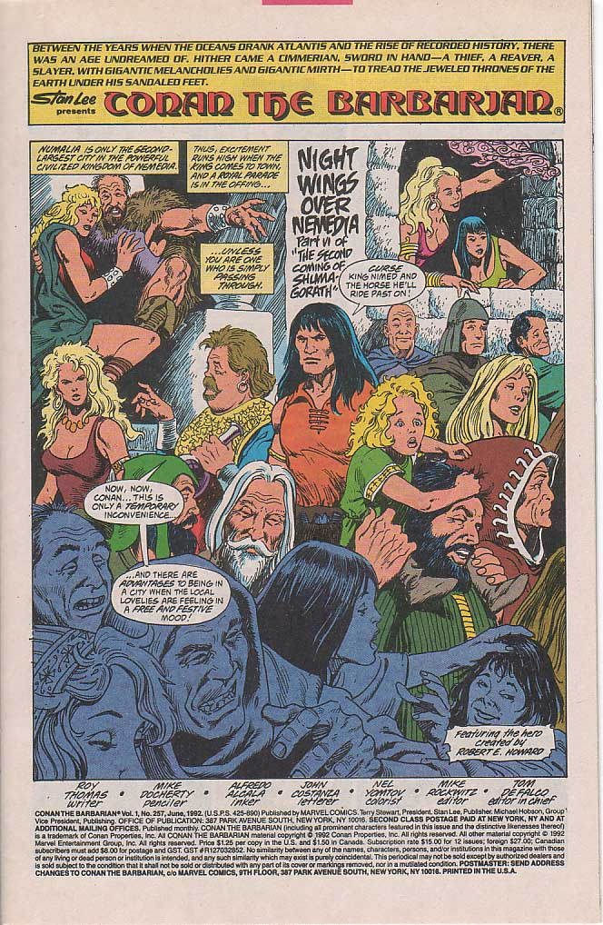 Conan the Barbarian (1970) Issue #257 #269 - English 2