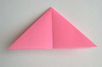 Craft for you origami lily folding instructions next take one of the four corners of the base and squash fold it as shown below mightylinksfo