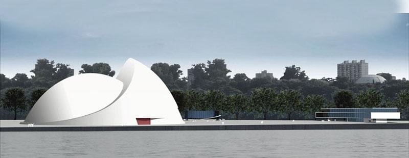 La lezna arquitectura oscar niemeyer for Arquitectura rosario