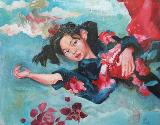 Mari Inukai paint pintura
