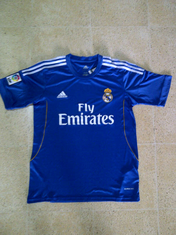 Jual Real Madrid Biru Musim 2014