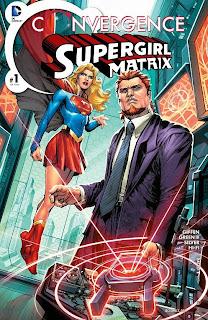 Cover of Convergence: Supergirl Matrix #1 from DC Comics