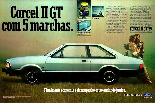propaganda Ford Corcel II GT 79 - 1979