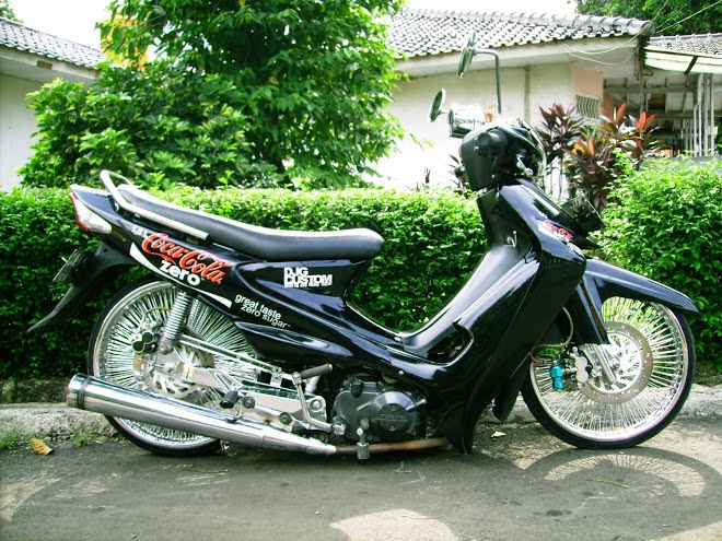modifikasi motor suzuki smash ceper