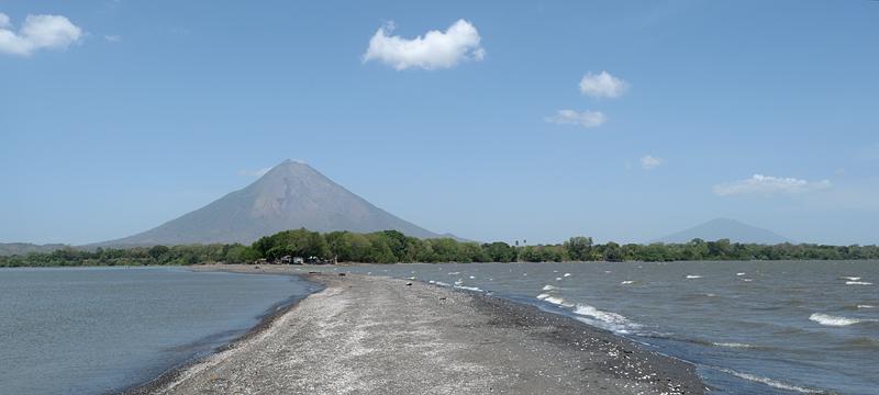 L'île volcanique d'Ometepe