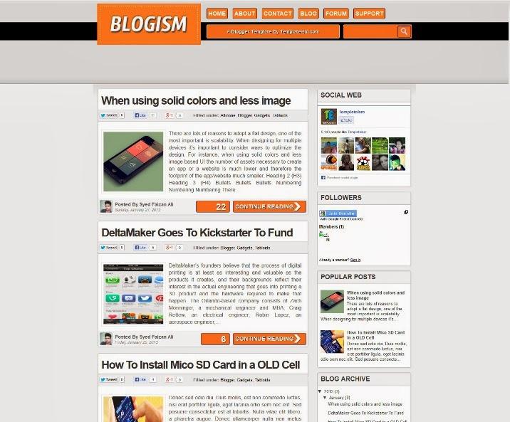Blogism