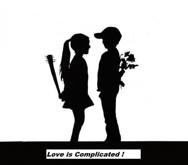 why love is complicated Anytime you're trying to explain why it really is love, just stop i often hear women asking whether or not their relationship is the real thing.