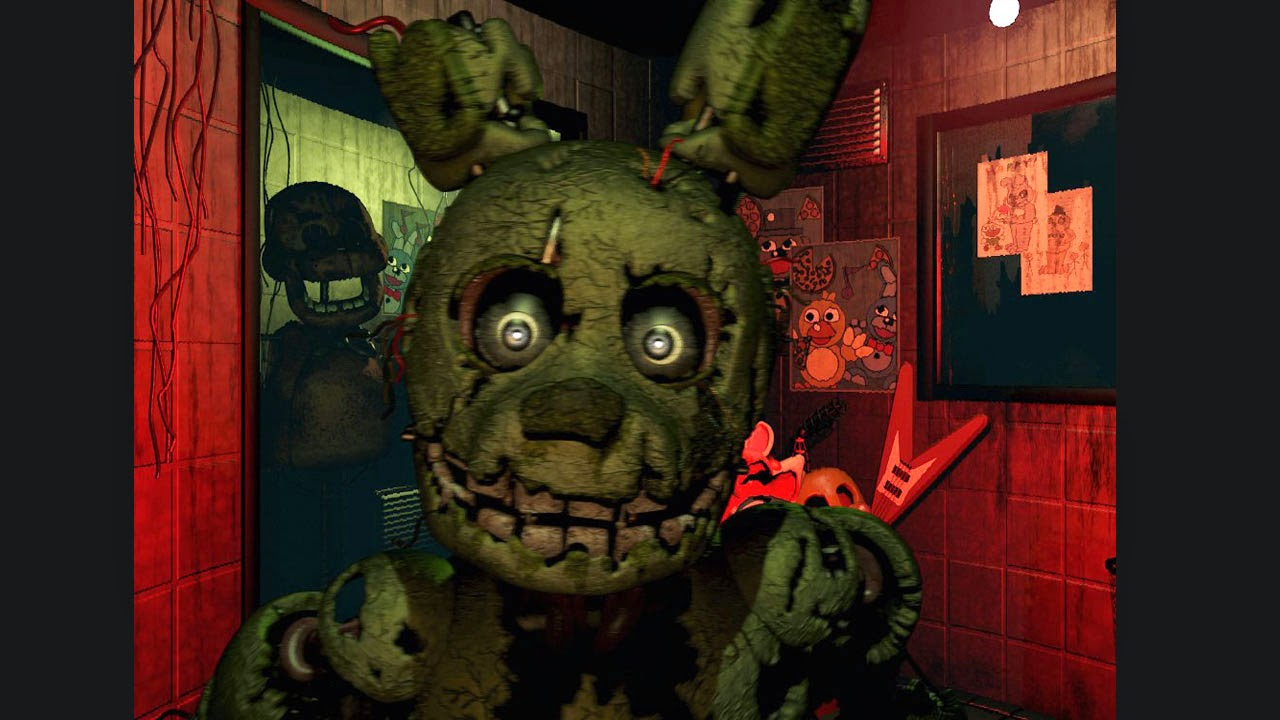 descargar juego de terror Five Nights at Freddys 3 horror juego tipo the forest para pc