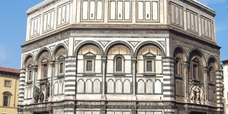 Pillole d 39 arte battistero di san giovanni firenze - Finestre firenze ...