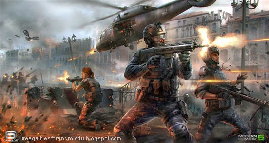 Modern Combat 5 APK Data free download