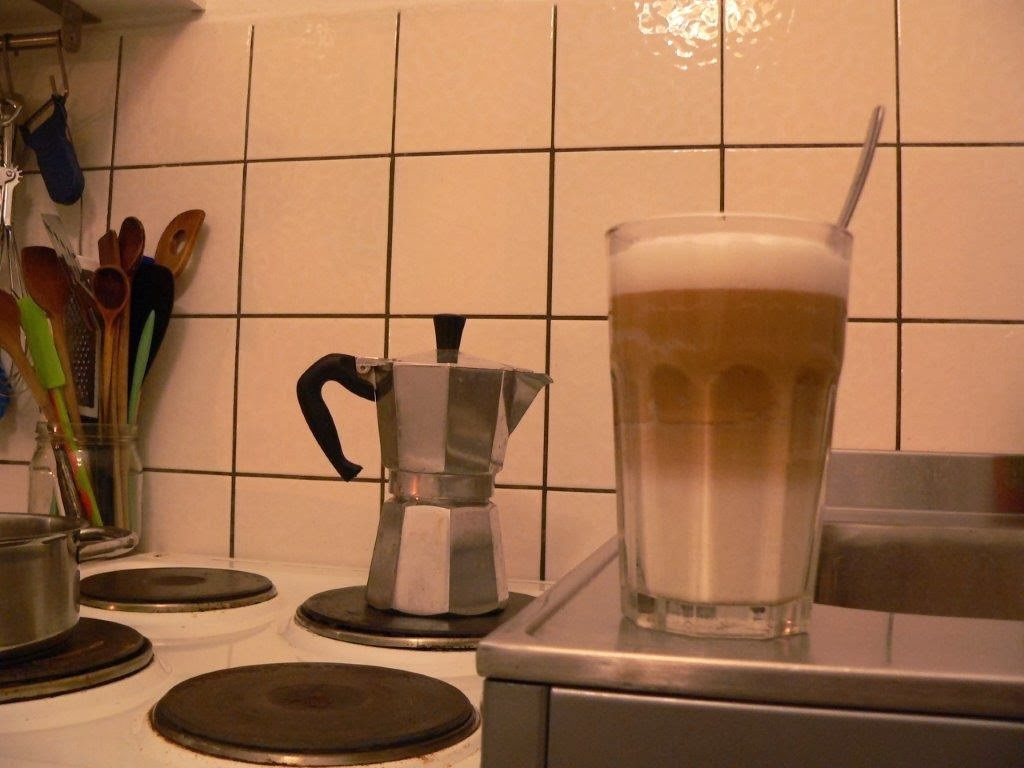 Milchschaum Latte Macciato