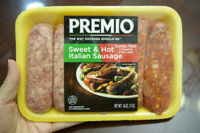 Premio Sweet and Hot Italian Sausage