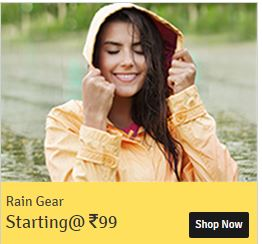 Buy RainGear Flat 70% off Starting Rs.99 Via shopclues :buytoearn
