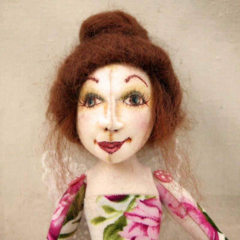 ooak art doll tansy