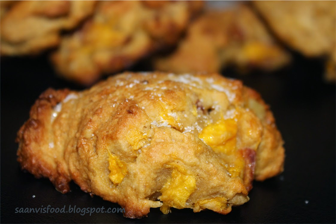 Wheat Flour Peach Scones