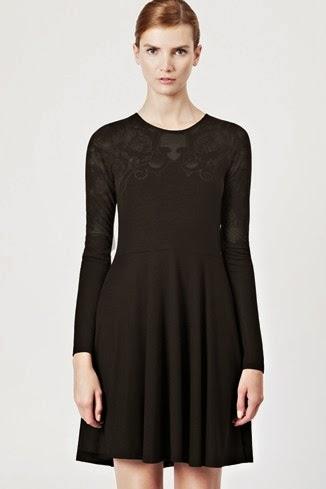 siyah kısa dantelli elbise modeli