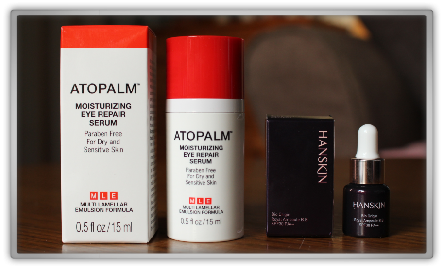 겟잇뷰티박스 by 미미박스 memebox beautybox #10 Global unboxing review preview box atopalm moisturizing eye repair serum hanskin bio origin royal ampoule bb spf 30 pa++