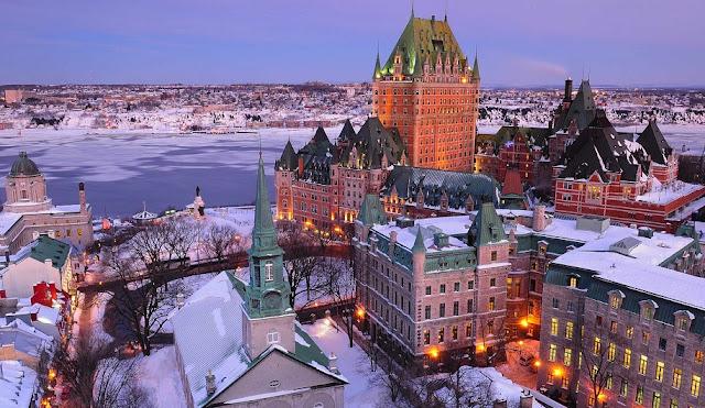Clima e temperatura em Quebec no Inverno