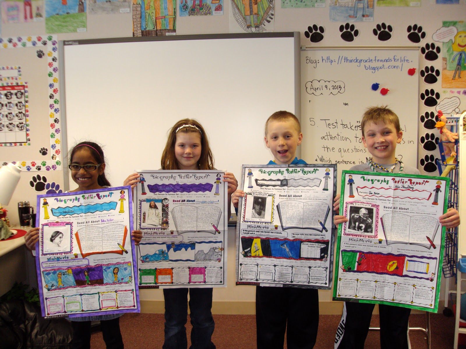 creative book report projects elementary
