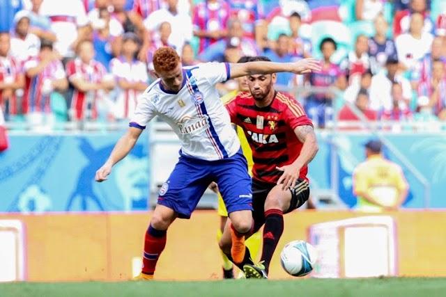 Com segundo tempo apático, Sport perde para Bahia e dá adeus ao Nordestão
