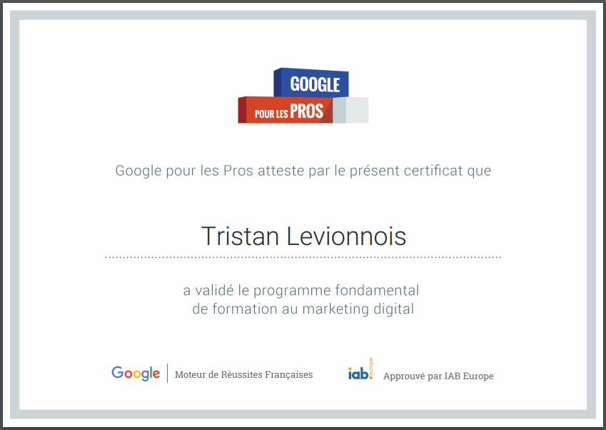 Formation gratuite au marketing digital proposée par Google