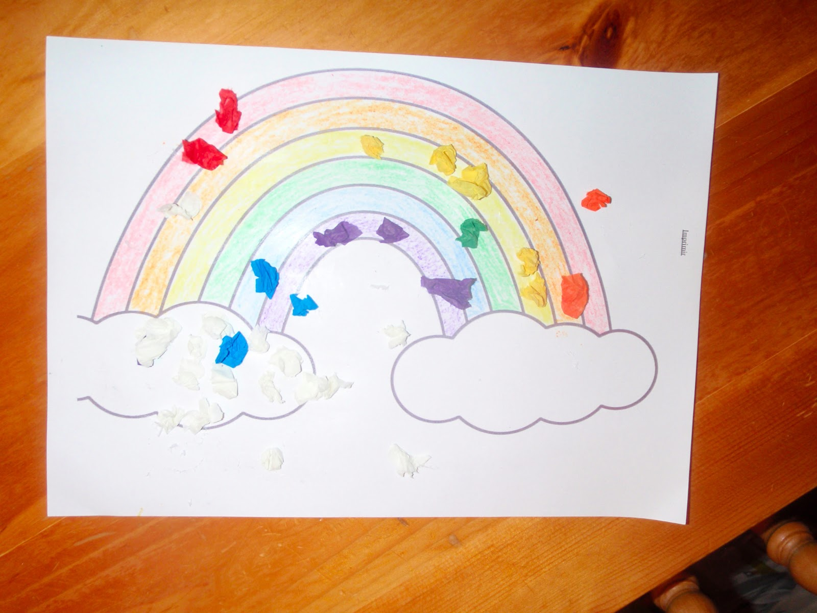 Minky Monkey Moo Learn Colours Sticky Rainbow 1