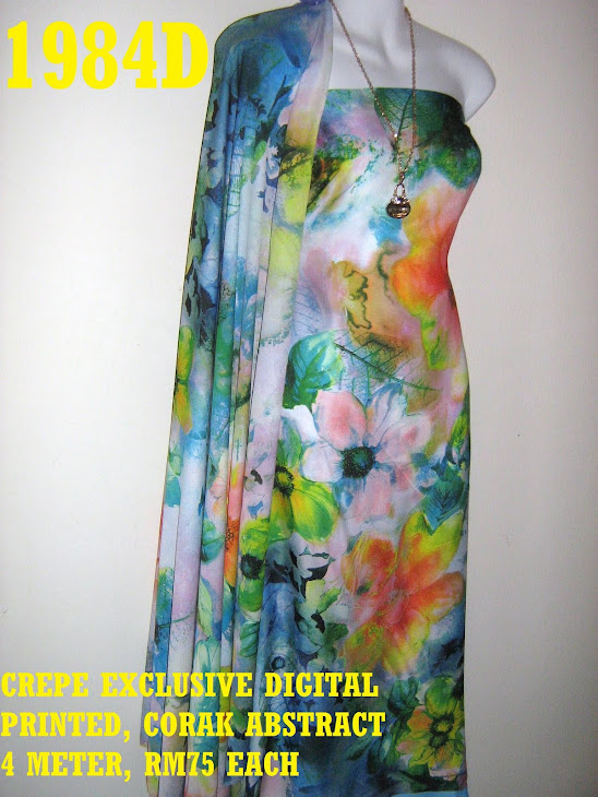 CP 1984D: CREPE EXCLUSIVE DIGITAL PRINTED, ABSTRACT, 4 METER