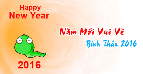 Ảnh chúc năm mới vui vẻ dễ thương nhất 2016 - ảnh 12