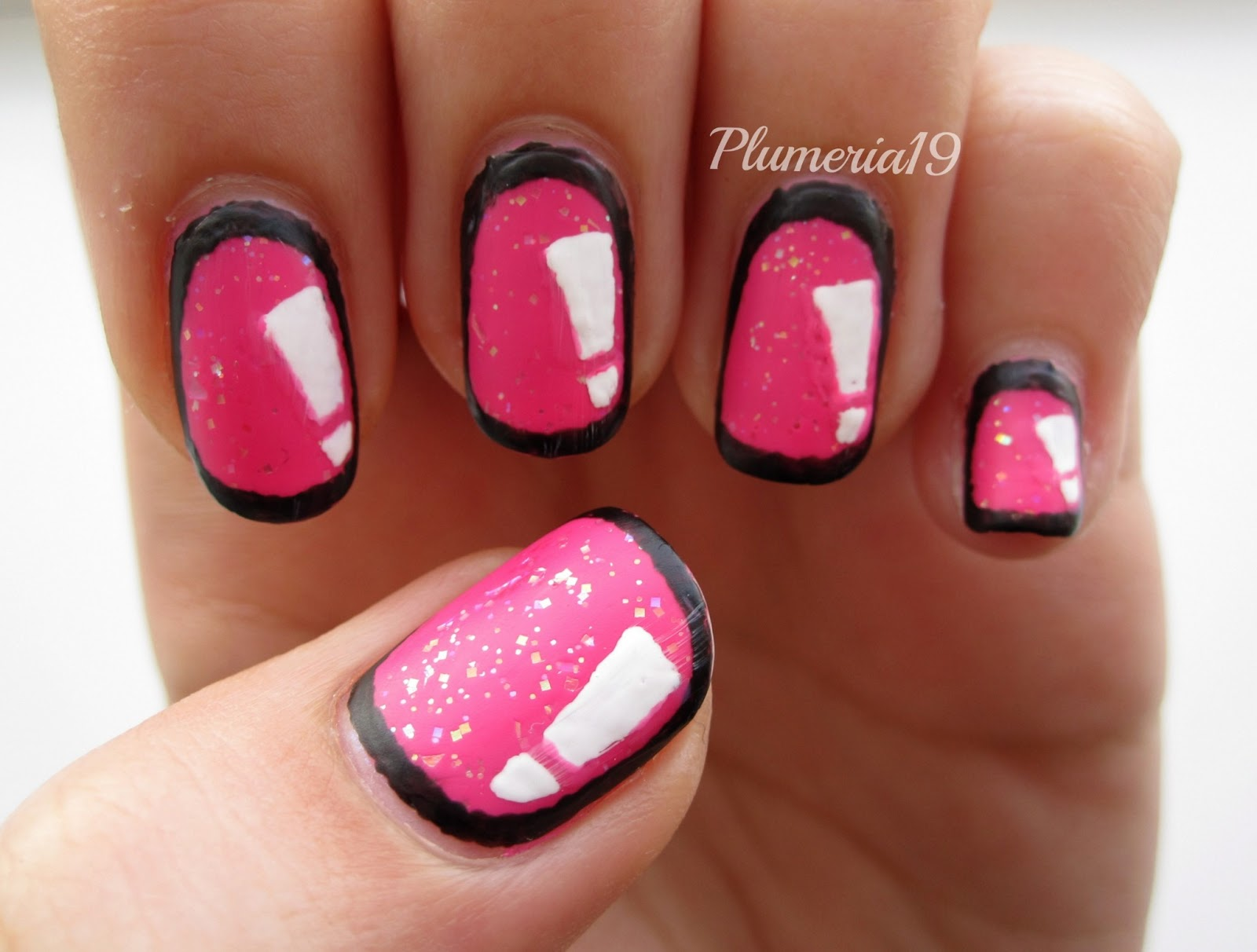 The Extraordinary Cute pink nail designs love Photograph