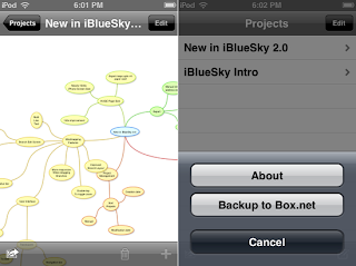 iBlue Sky Mobile App