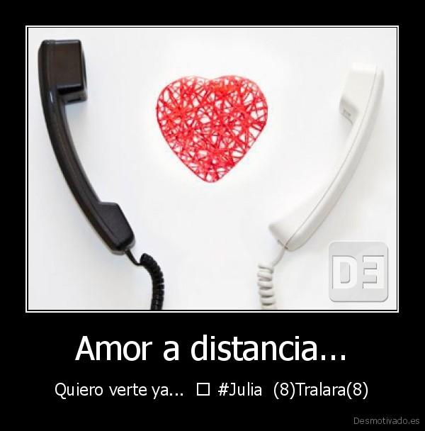 de amor a distancia, distancia desmotivaciones de amor a distancia