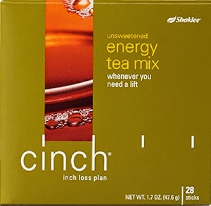 cinch energy tea mix shaklee
