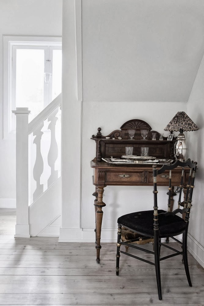 amenajari, interioare, decoratiuni, decor, design interior, rustic scandinav, birou vintage,