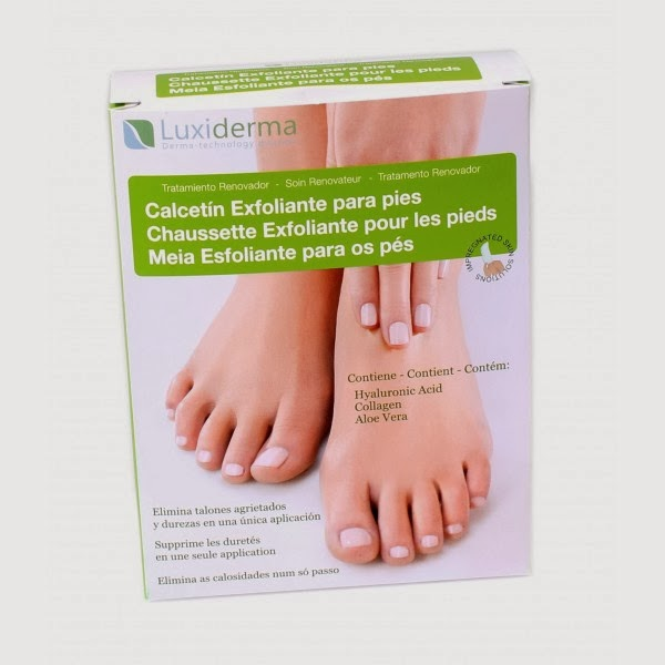 Luxiderma Calcetines exfoliantes