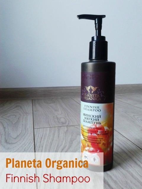 PLANETA ORGANICA - Fiński szampon do włosów osłabionych i wrażliwej skóry głowy.