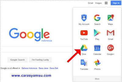 Membuat Akun Google Drive