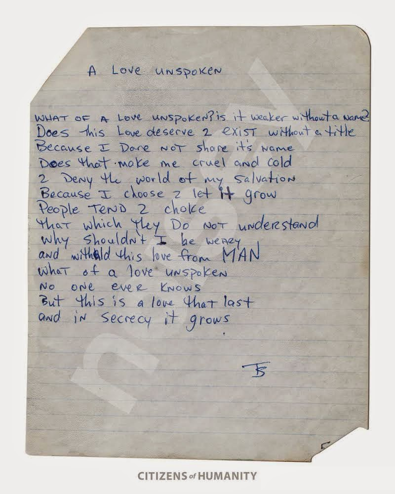 WOW! See The Handwritten Poetry Tupac Wrote When He Was 17-Years Old