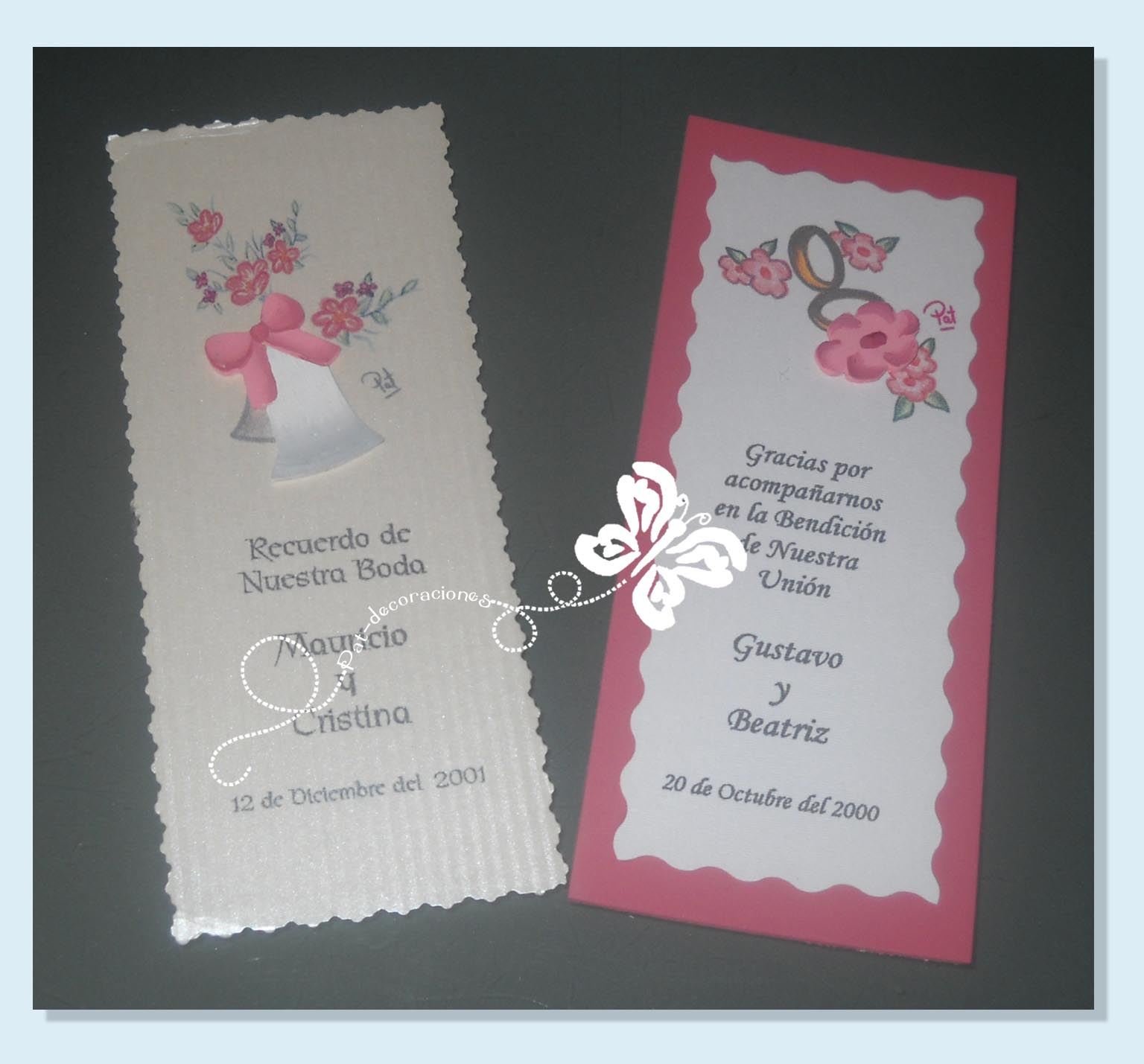 Targetas para boda imagui - Modelos de tarjetas de boda ...