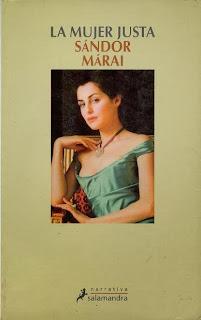 La mujer justa Sándor Márai